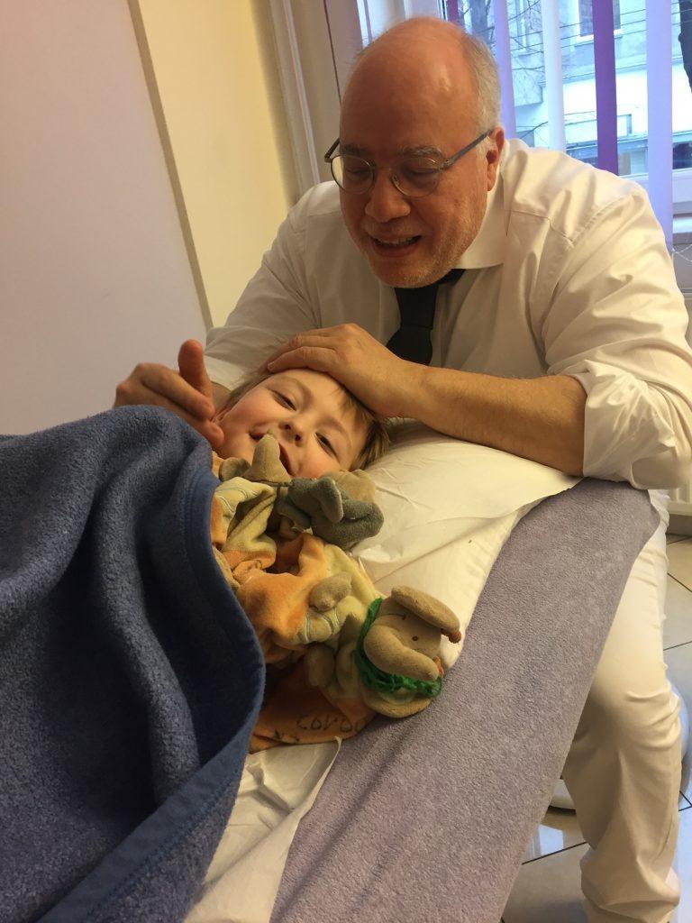 Osteopathische Behandlung für Kinder