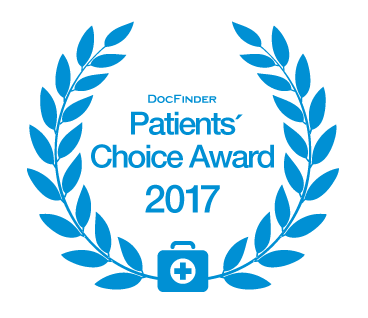 Docfinder Patients Choice Award 2017