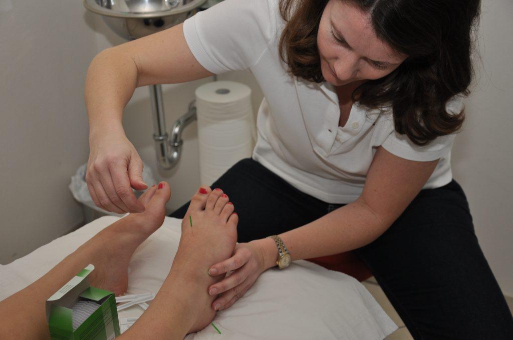 Physiotherapie, Akupressur Massage
