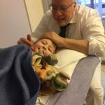 osteopathy for children - healing through touch