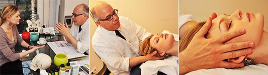 Osteopathie für die Frau - Anwendungen