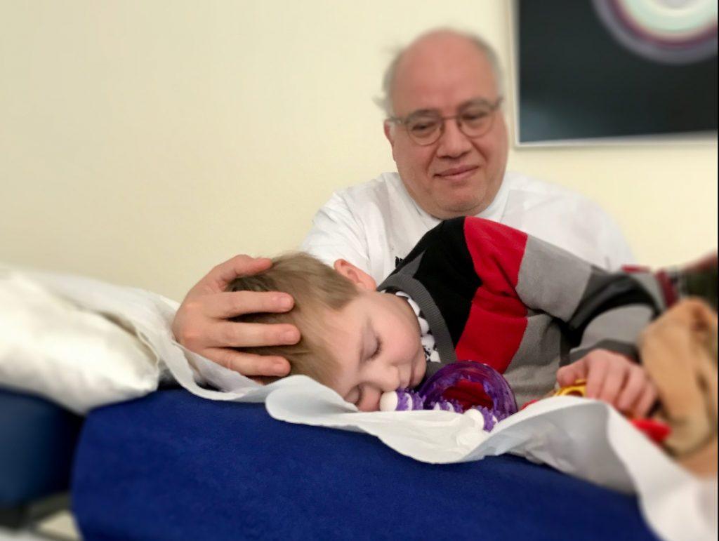Osteopathie für Kinder - Anwendungen